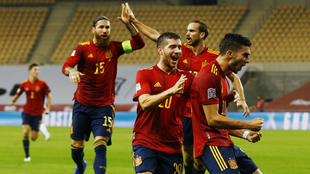 España vs Alemania, en el duelo de la Nations League.