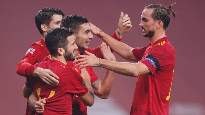 Spain 6-0 Germany.