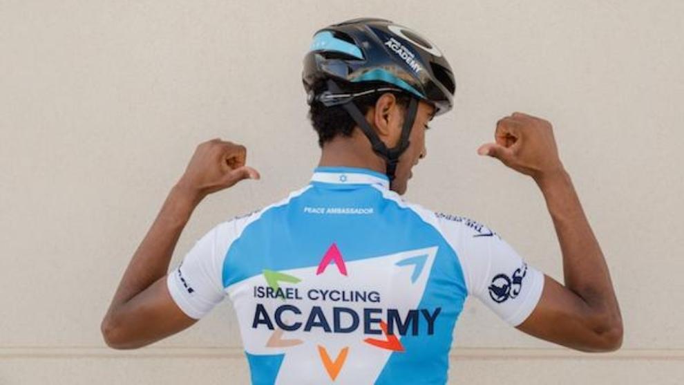 Awet Andemeskel, corredor del Israel Cycling Academy