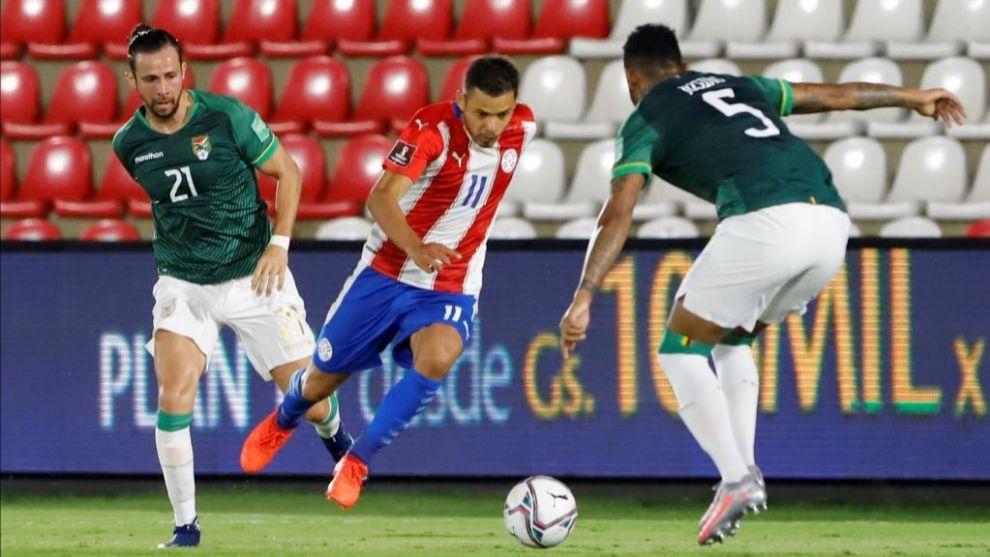 Eliminatoria Sudamericana Mundial 2022 Qatar: Paraguay y Bolivia empatan en  la locura del VAR - Fase de clasificación al Mundial, Sudamérica