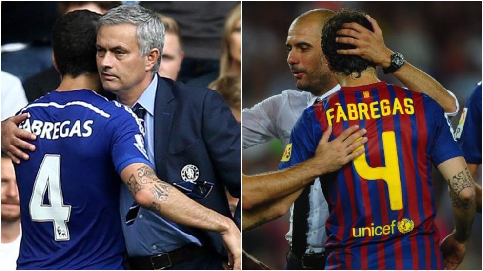 Fabregas: I consider Mourinho a friend, but I don't speak with Guardiola