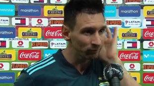 """La incómoda pregunta que descolocó a Messi: """"Algunos dicen de ti que ya..."""""""