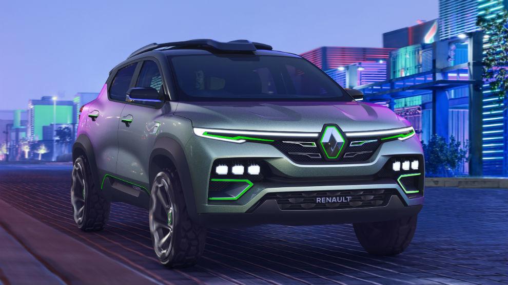 El nuevo Kiger show-car está destinado al mercado indio.