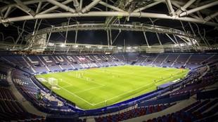 El estadio del Ciutat de València.