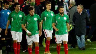 Euskadi, dirigida por Clemente, ganó este lunes 2-1 a Costa Rica en...