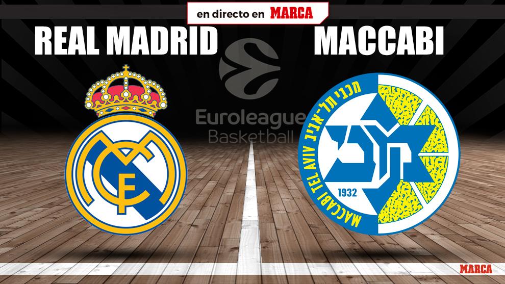 Real Madrid - Maccabi en directo