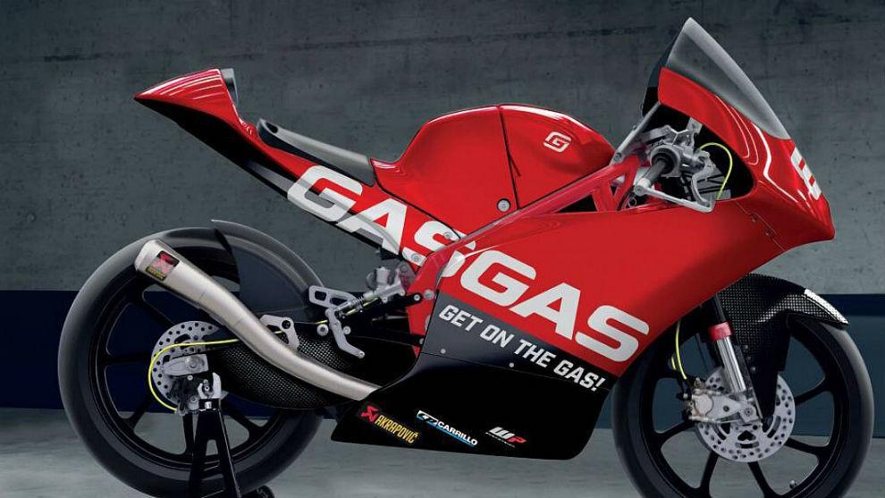 Así luce la nueva GasGas con la que la marca española debutará en...