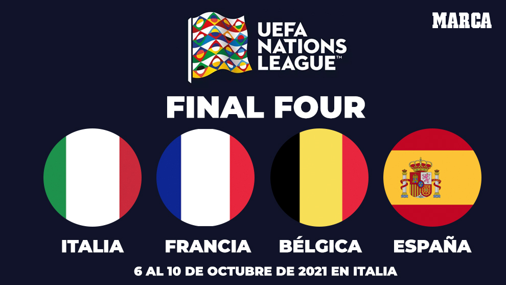 France, Spain, Italy and Belgium will face off in Nations League Final Four | MARCA in English
