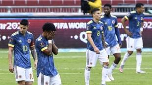 Revelan que hubo pelea en el vestuario de Colombia tras la goleada ante Ecuador
