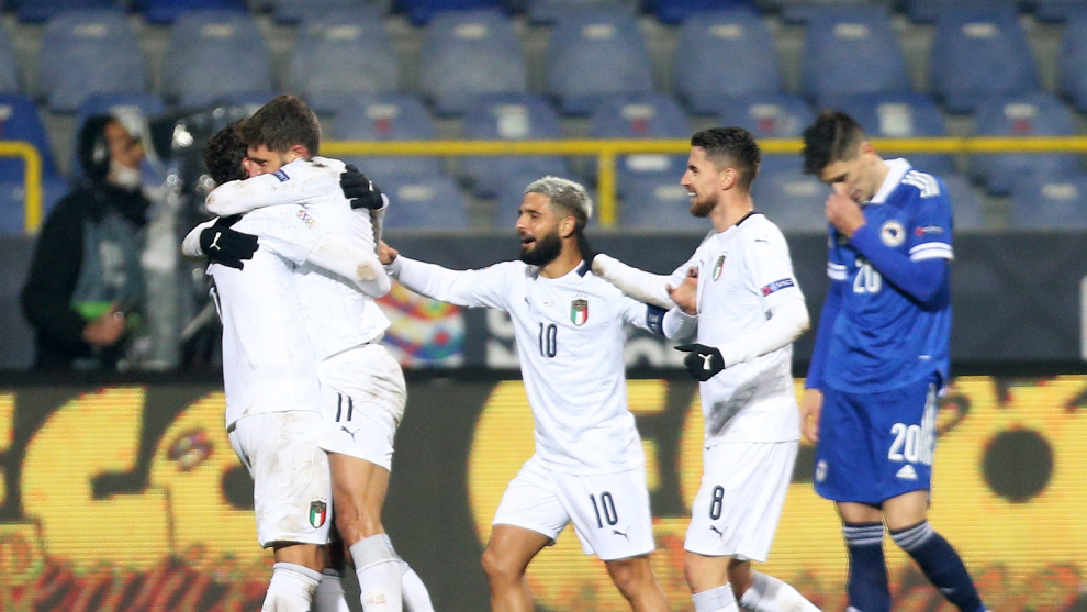 Bosnia Herzegovina vs Italia: Italia no falla en Bosnia y estará en el  Final Four de la Nations League - UEFA Nations League