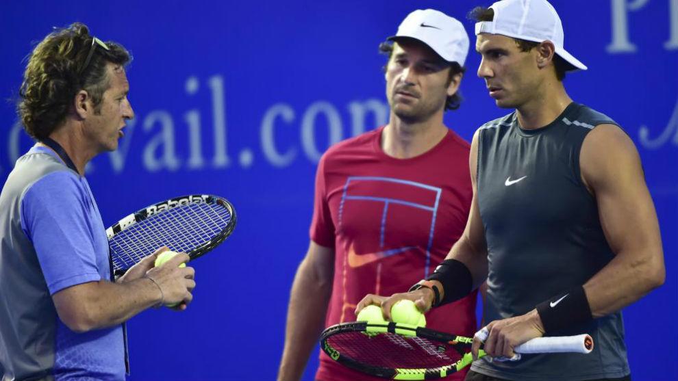 """Francis Roig, entrenador de Nadal: """"El partido de Thiem le vino muy bien a Rafa"""""""