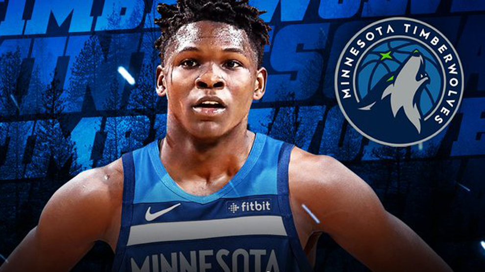 Minnesota Timberwolves select Anthony Edwards with No.1 pick in NBA Draft