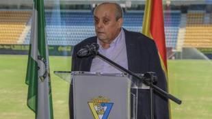 Theo Vargas, en una imagen de archivo tras recibir un homenaje