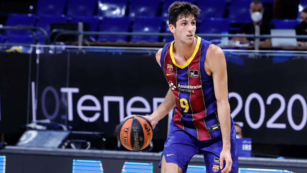 Leandro Bolmaro, jugador argentino del Barcelona