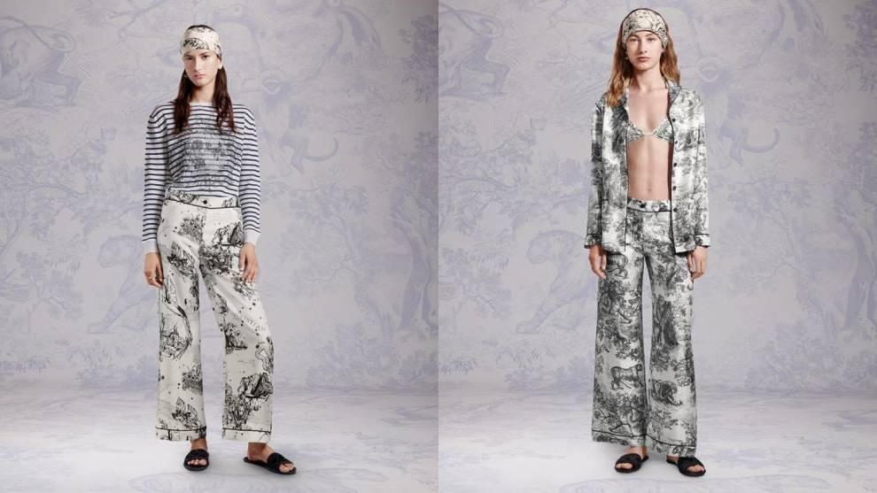 Dior presenta una nueva colección cápsula de ropa para estar en casa