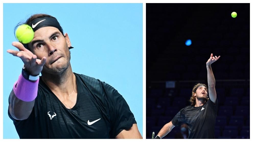 Rafa Nadal se juega el pase a semifinales de la ATP Finals Nitto ante...