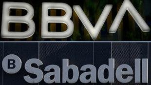 Fusion del banco BBVA y Sabadell