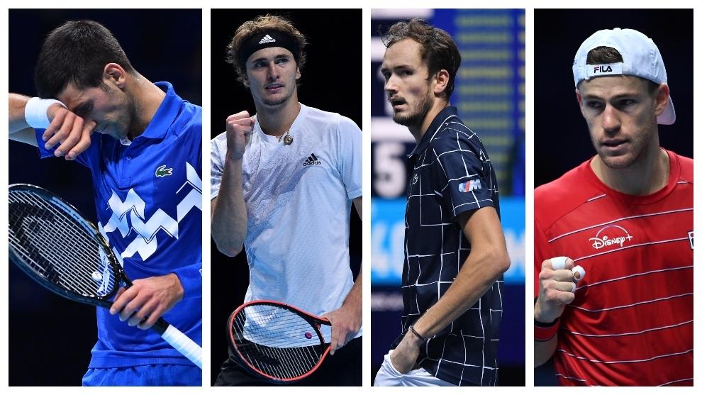 Horario y donde ver hoy en TV el ATP Finals con Djokovic - Zverev y...