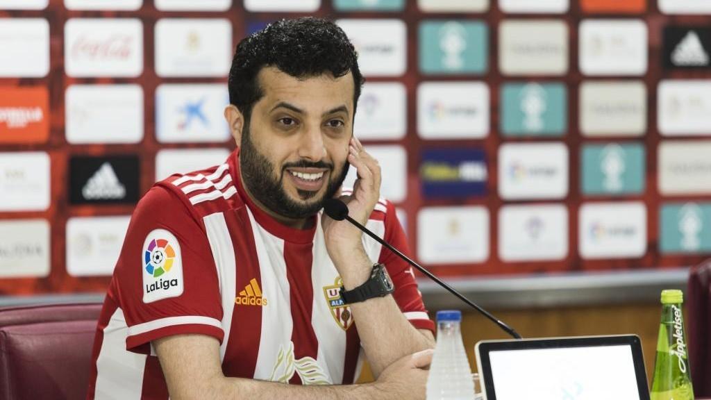 Turki Al-Sheikh, propietario del Almería.