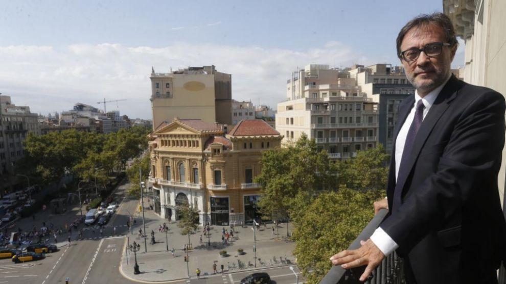 Benedito posa para MARCA durante una entrevista