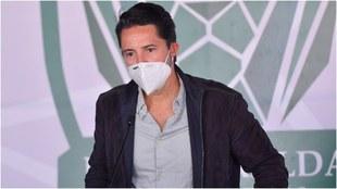 Yon de Luisa habló con Peláez sobre la lesión de Alexis Vega.