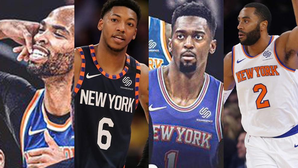Purga en los Knicks: cortan a seis jugadores para limpiar 40 millones del límite salarial