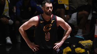 Kevin Love, jugador de los Cleveland Cavaliers
