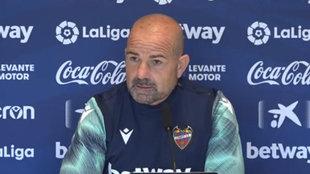 Paco López, técnico del Levante.