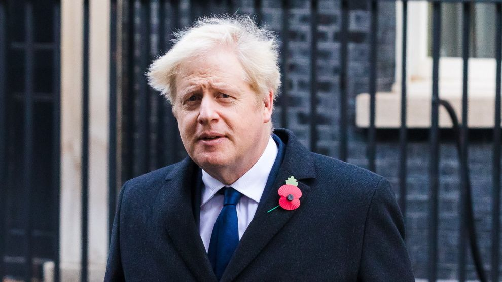 Boris Johnson, principal valedor de la prohibición.
