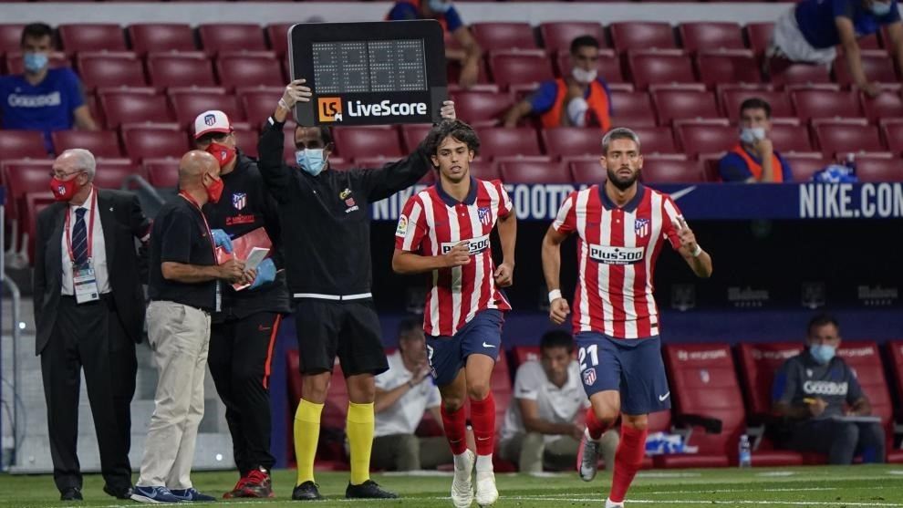 Joao Felix and  Carrasco.