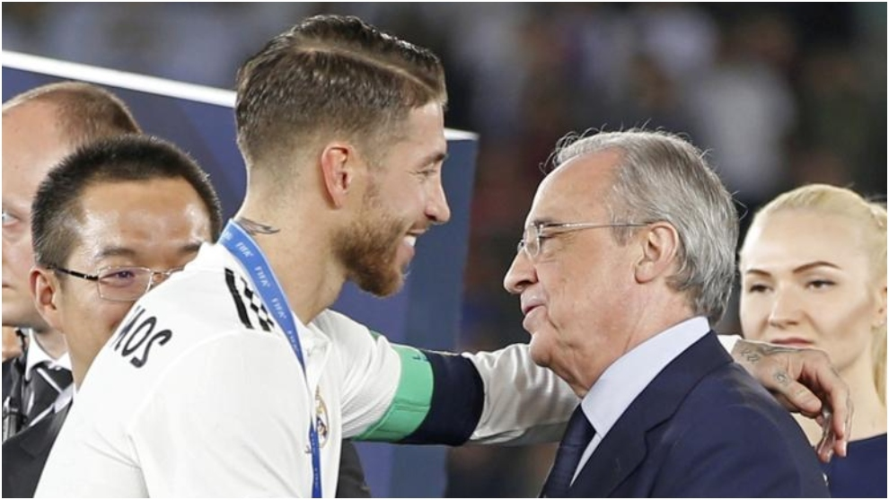 Sergio Ramos and Florentino P