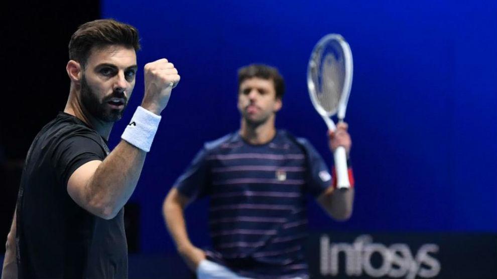 Granollers y Zeballos celebra un triunfo en el Masters