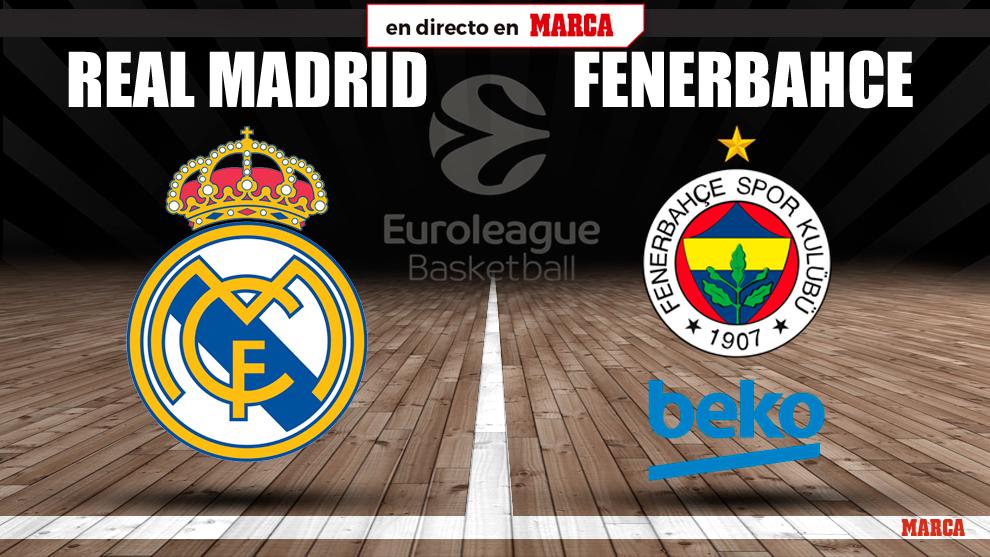 Real Madrid - Fenerbache: horario y donde ver por TV y online hoy el...