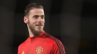 David de Gea, meta del Manchester United y de la selección española.