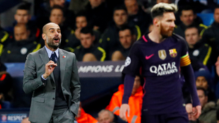 Pep Guardiola habló sobre el futuro de Lionel Messi. |