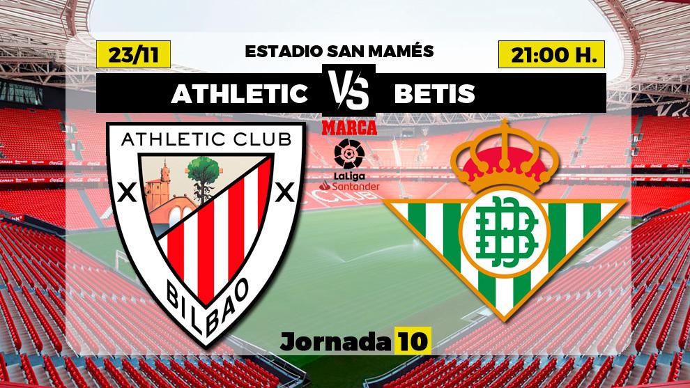 Athletic Club - Betis | 23 de noviembre a las 21.00 horas