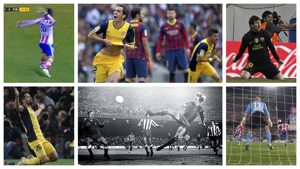Eleven memories from Atletico Madrid vs Barcelona history