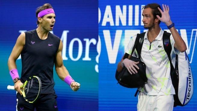 Nadal y Medvedev jugarán este sábado la segunda semifinal a las 21.00 horas