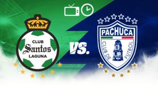 Santos recibe a Pachuca en el repechaje