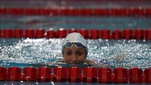 Jessica Vall, ganadora de los 200 m braza