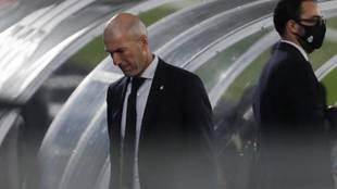 Zinedine Zidane, decaído.