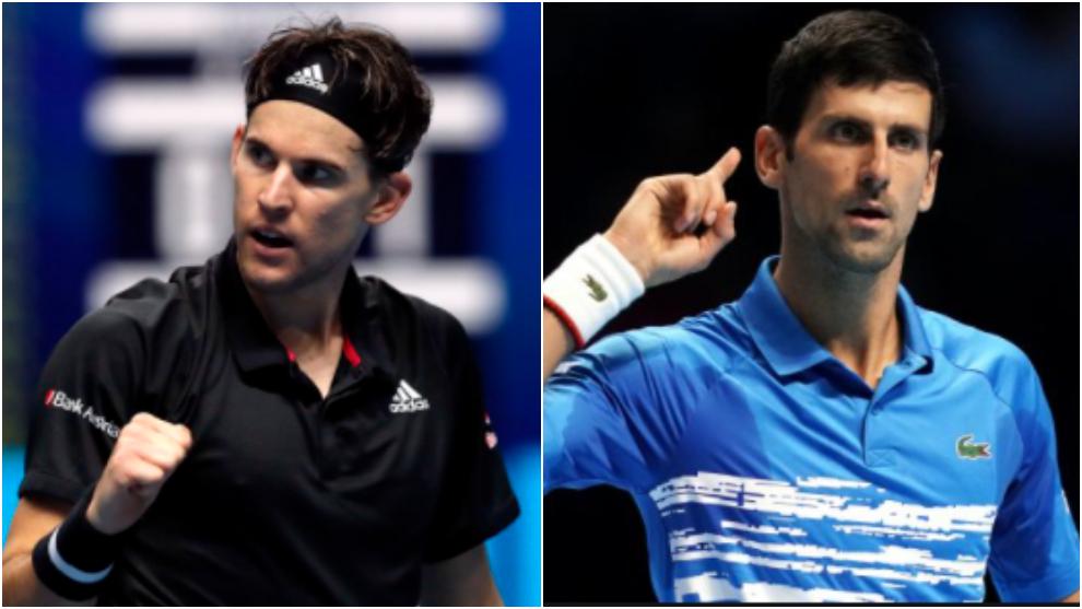 ATP Finals Nitto 2020: Dominic Thiem y Novak Djokovic: Horario y dónde ver  en TV hoy la semifinal de la Copa de Maestros | Marca.com