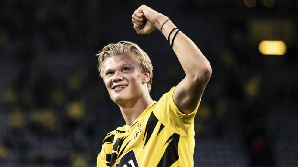 Dortmund star Haaland wins 2020 Golden Boy award