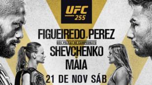 Cartelera de los combates estelares de UFC 255