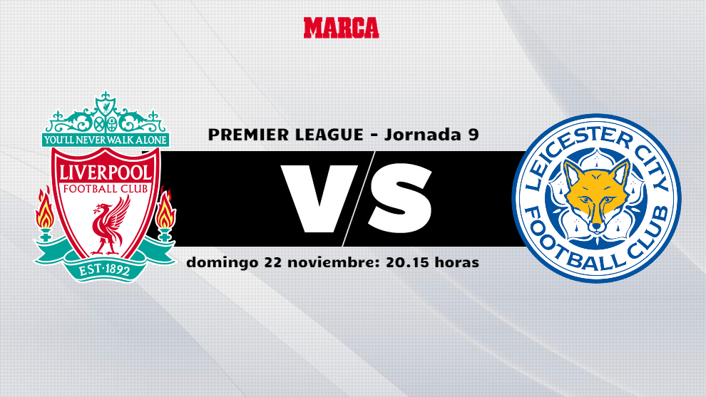 Liverpool - Leicester: horario y donde ver por television el partido...