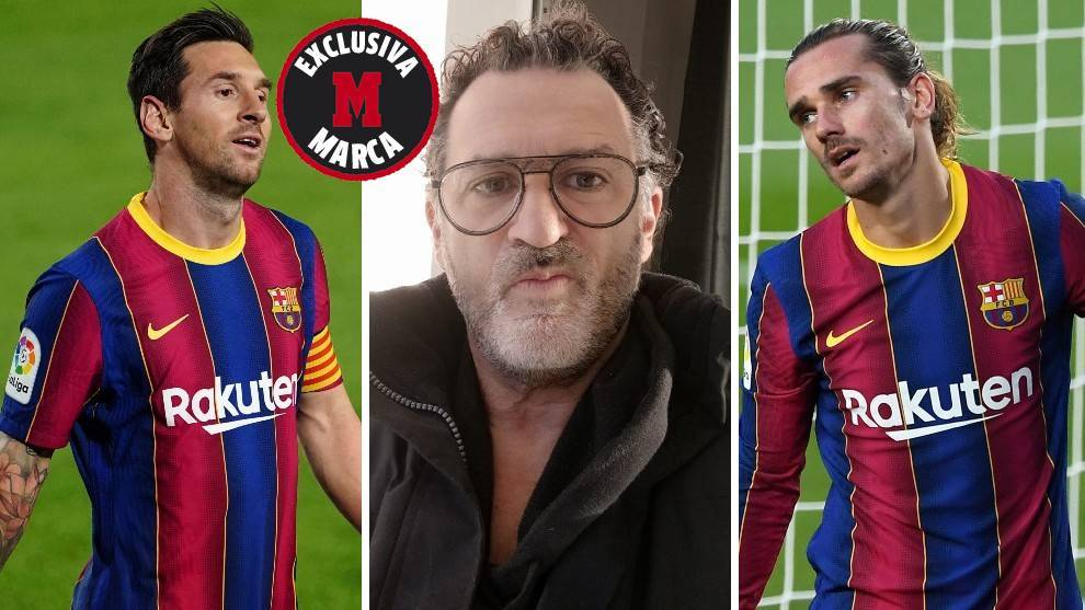 Eric Olhats open letter: Griezmann never spoke to me about his relationship with Messi