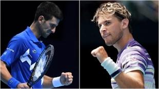 Djokovic - Thiem. Semifinal ATP Finals Nitto 2020