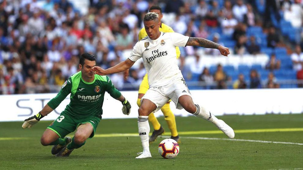 Mariano, durante el partido ante el Villarreal de la 18-19 en el que...