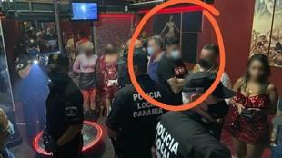 Dos jugadores del Tenerife pillados en una redada en un club de alterne