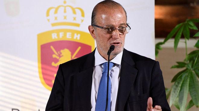 Santiago Deó, presidente de la RFEH.